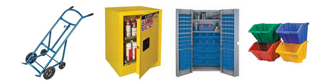 Divers équipements d'entrepôt